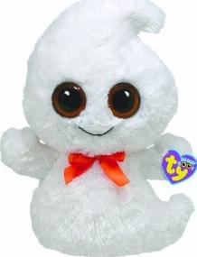 Ty Beanie Boo Buddy Ghosty Ghost Actual Size Image