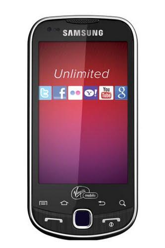 Virgin Mobiles Samsung Intercept Changes Everything