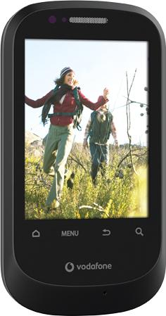Vodafone 858 Smart Actual Size Image