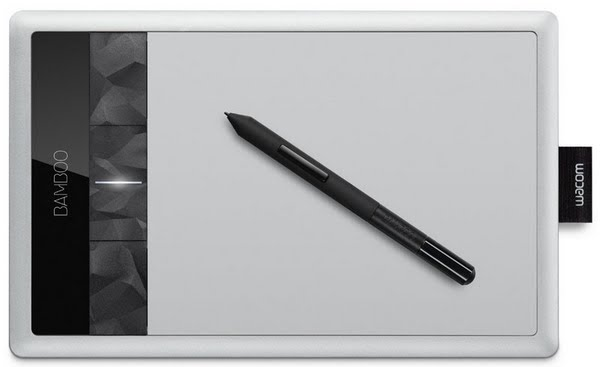Wacom Bamboo Capture Drawing Tablet Actual Size Image