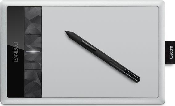 Wacom Bamboo Capture Tablet CTH470 Actual Size Image