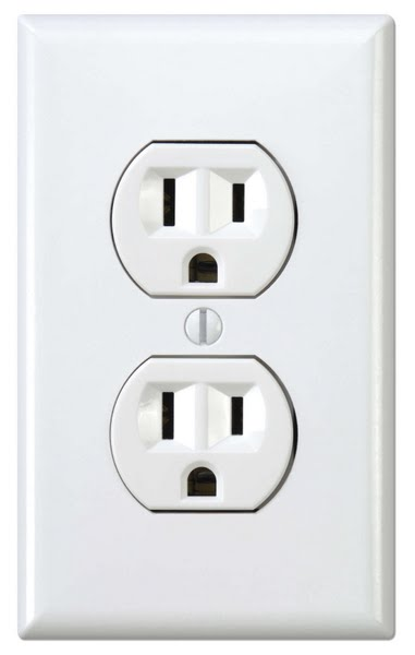 Wall Outlet Actual Size Image