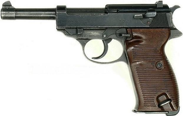 Walther P38 Actual Size Image