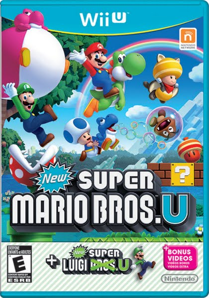 Wii U Game Box or Case Actual Size Image