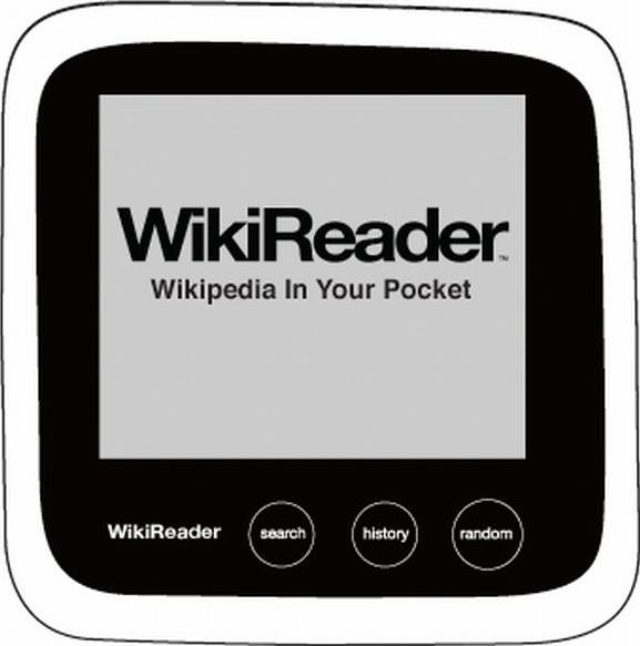 WikiReader Actual Size Image