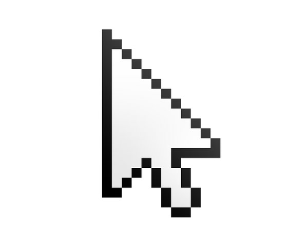Windows 7 Cursor Actual Size Image
