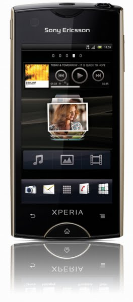 Xperia Ray Actual Size Image