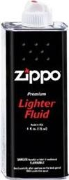 Zippo Lighter fluid (12 ounce) Actual Size Image