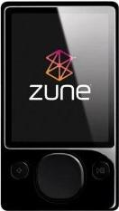 Zune 120 GB Actual Size Image