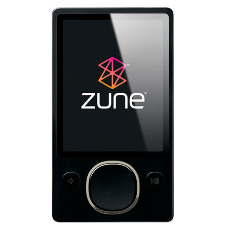 Zune 80GB Actual Size Image